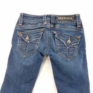 Rock Revival Gwen Boot Denim Jeans Pants
